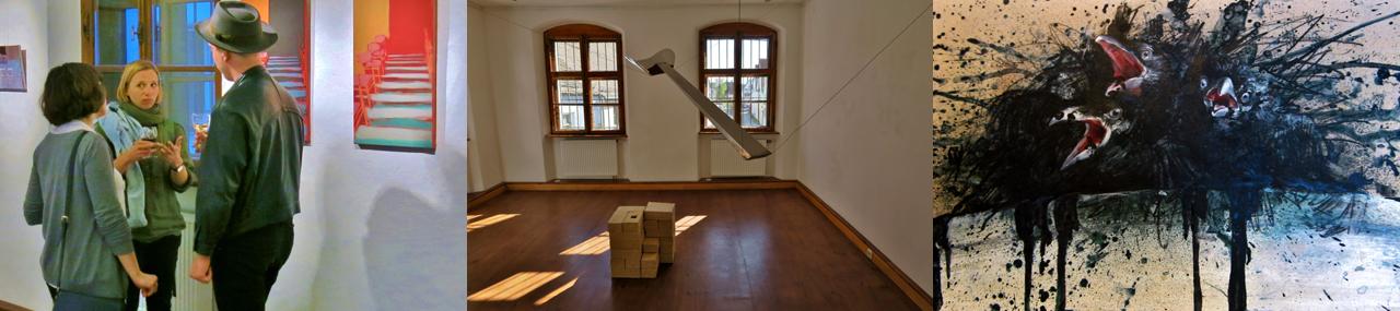 Headerbild Bildende Kunst Modern Studio Freising